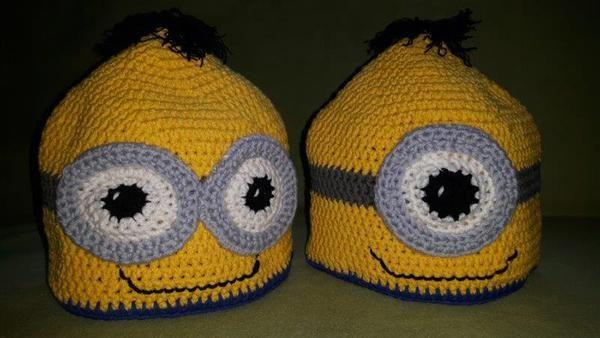 Minions-Mütze | Handarbeiten | Pinterest | Minions, Mütze und ...