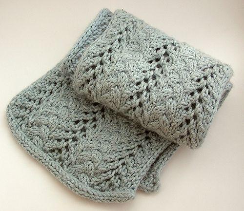 Ravelry: Alison\'s Scarf pattern by Annie Modesitt | Knitting ...
