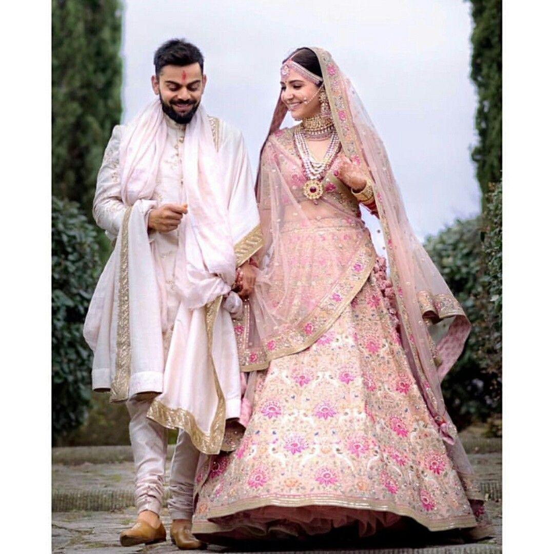 Beautiful Couples Indian Groom Wear Virat Anushka Virat