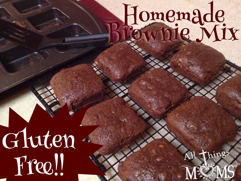 Homemade Gluten Free Brownie Mix!