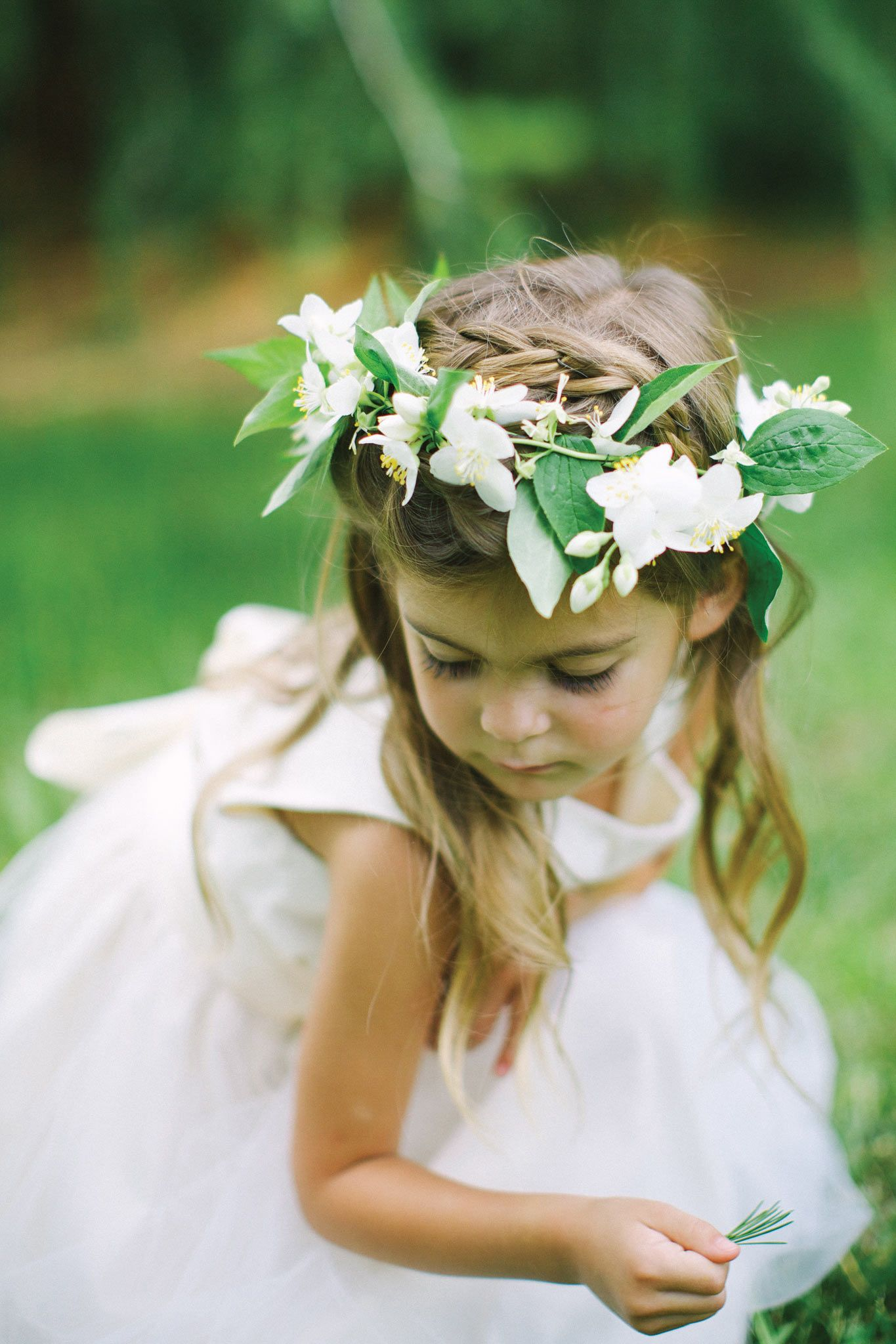 Wedding Theme A Farm Fresh Fte Pinterest Flower Girl Crown