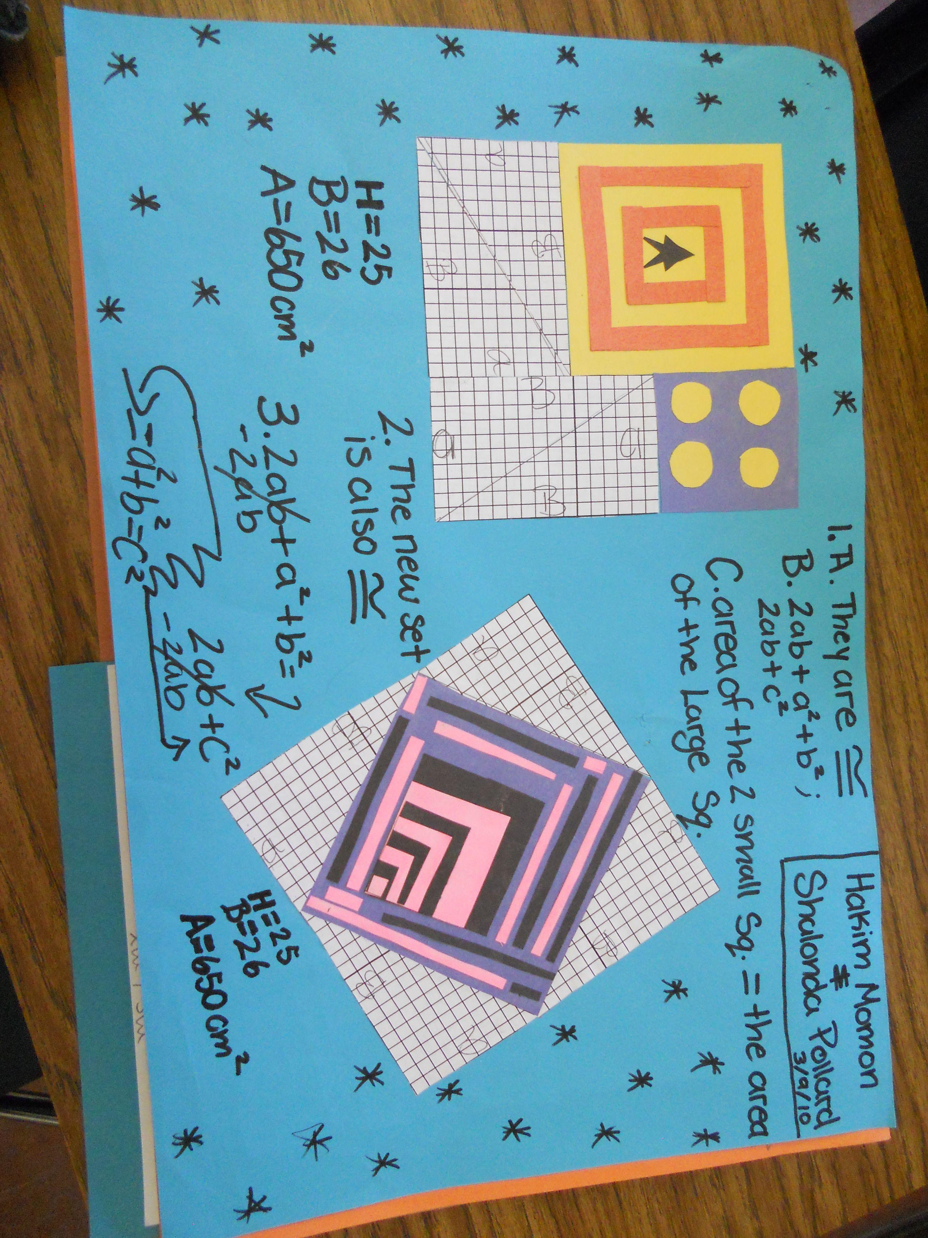 Exploring Pythagorean Theorem