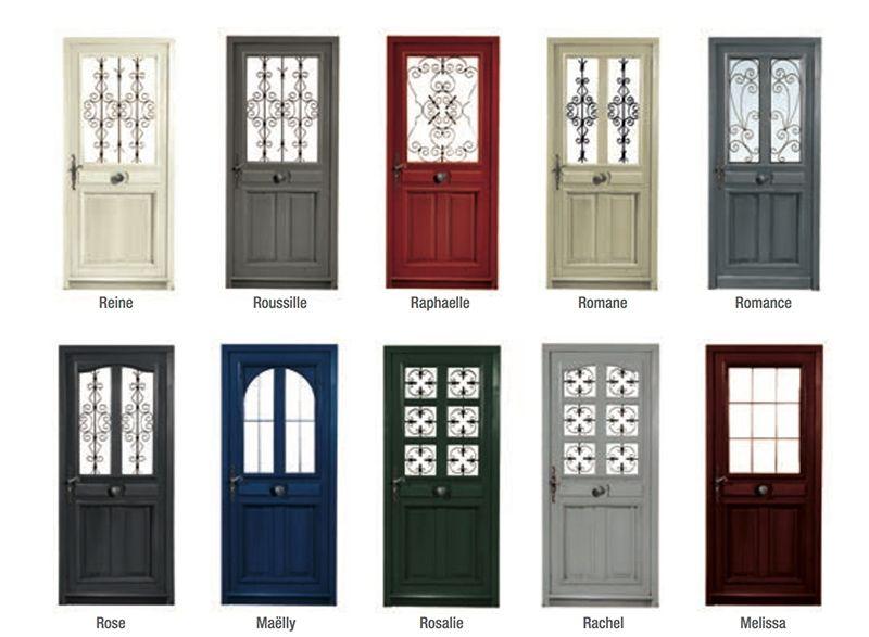 Porte bois semi vitr e portes et fen tres pvc bois et alu en essonne 91 pratique en 2019 - Porte d entree bois vitree ...