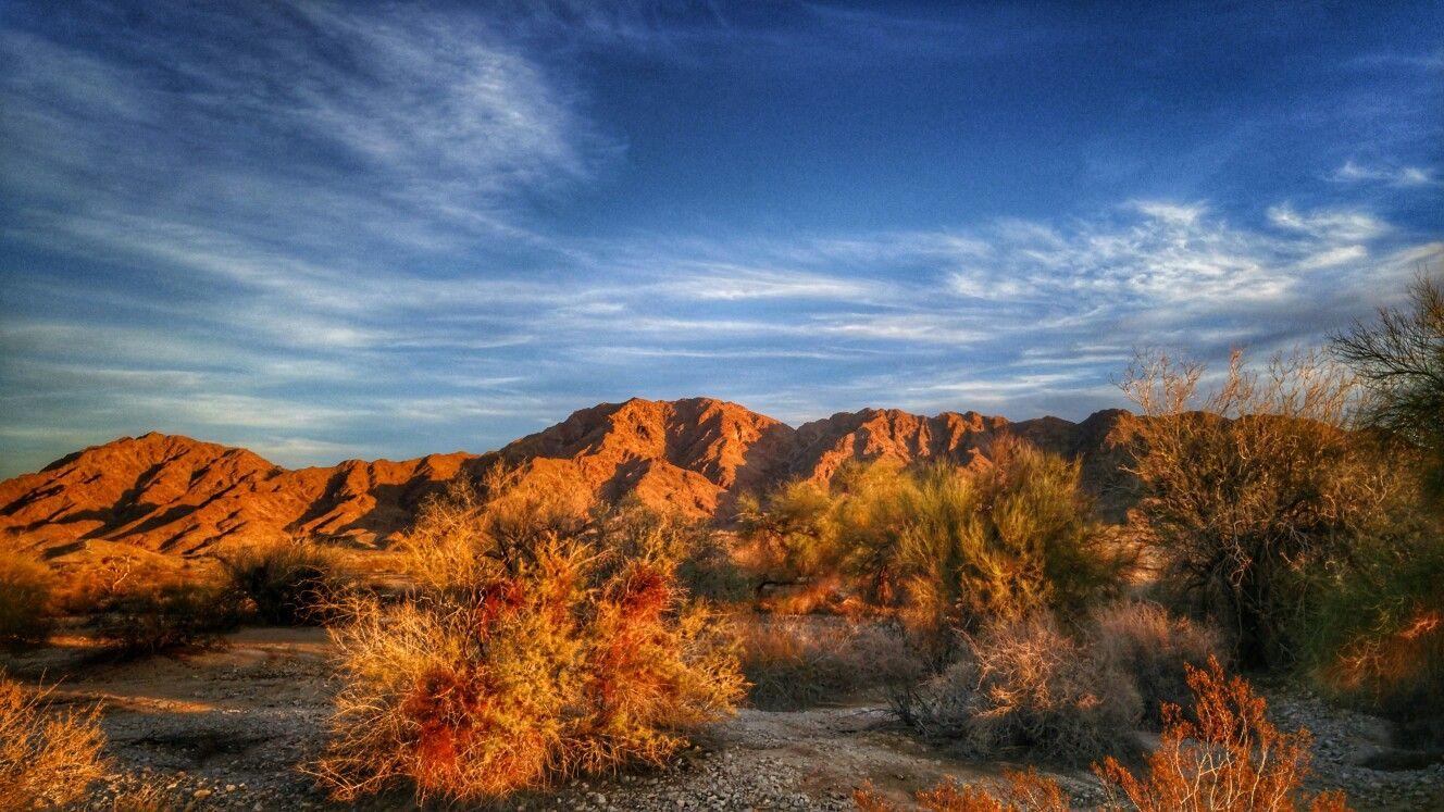 Fortuna Foothills Arizona 2017 Snowbird Landscape Mountain Desert Fortuna Foothills Landscape Scenery