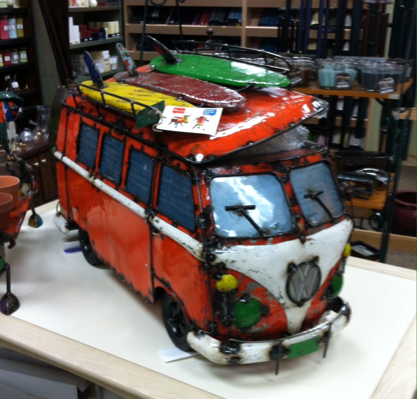 Vw Van Beer Or Wine Cooler Made From Metal Vw Van Vw Bus