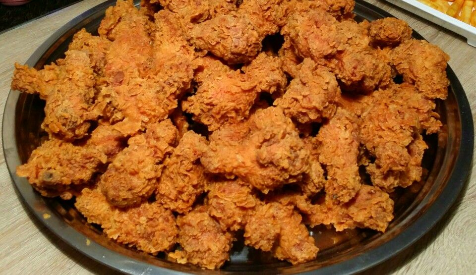 Hot wings spicy with new recipe
