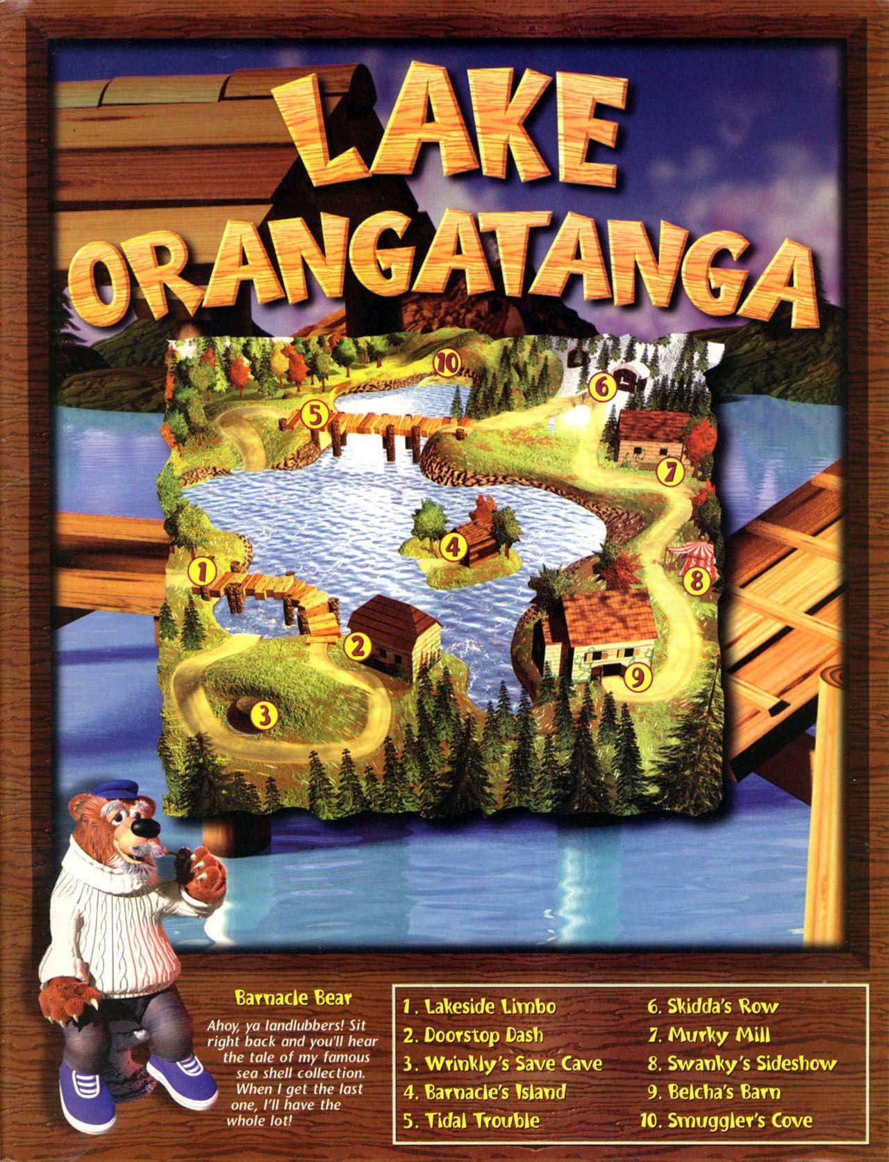 Lake Orangatanga Donkey kong, Comic book cover, Sideshow