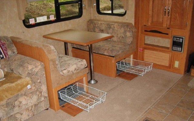 Strange Dinette Bench Storage Can Be Also Benefit From Sliding Trays Inzonedesignstudio Interior Chair Design Inzonedesignstudiocom