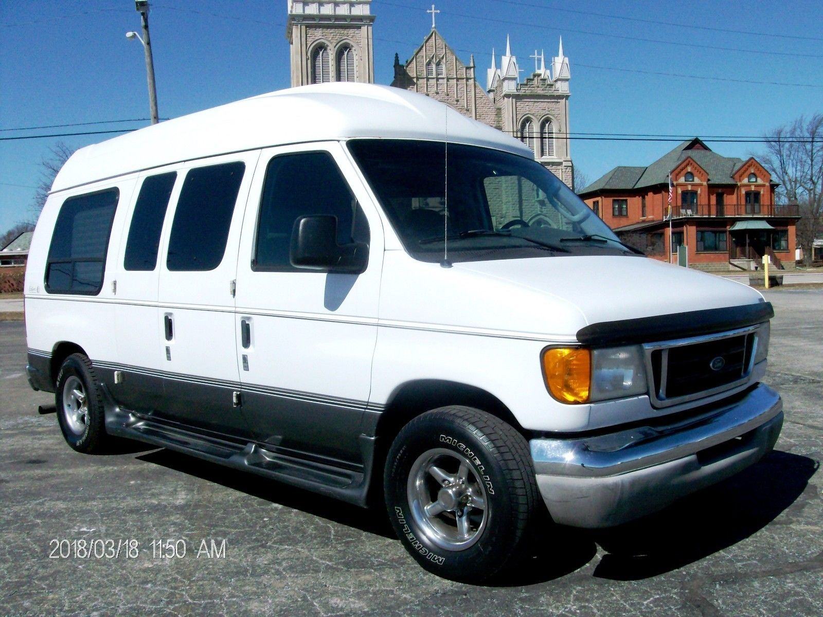 2003 Ford E Series Van Eclipse Solar Custom Conversion Beautiful