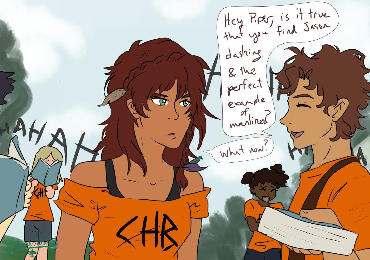Fanfiction percy x piper Percy Jackson/Piper