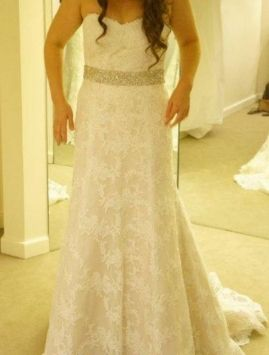 Watters Pasadena 9063 Wedding Dress $1,950