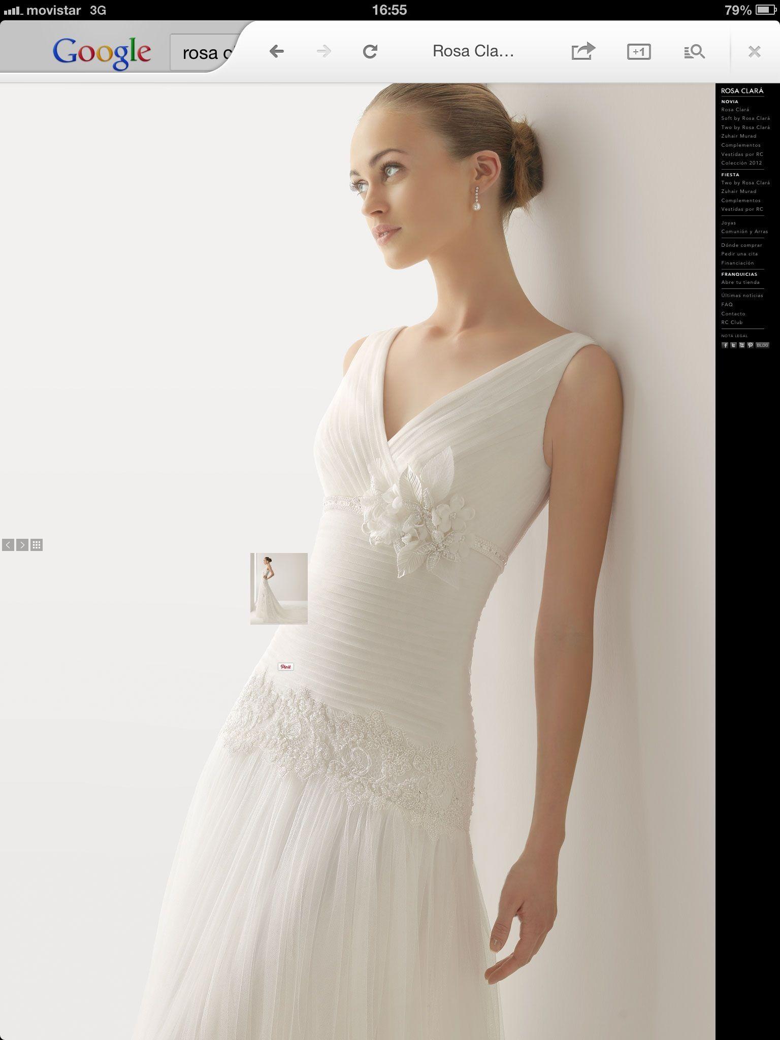 Nuevo vestido publicado! Rosa Clará mod. Junco ¡por sólo 1000 ...