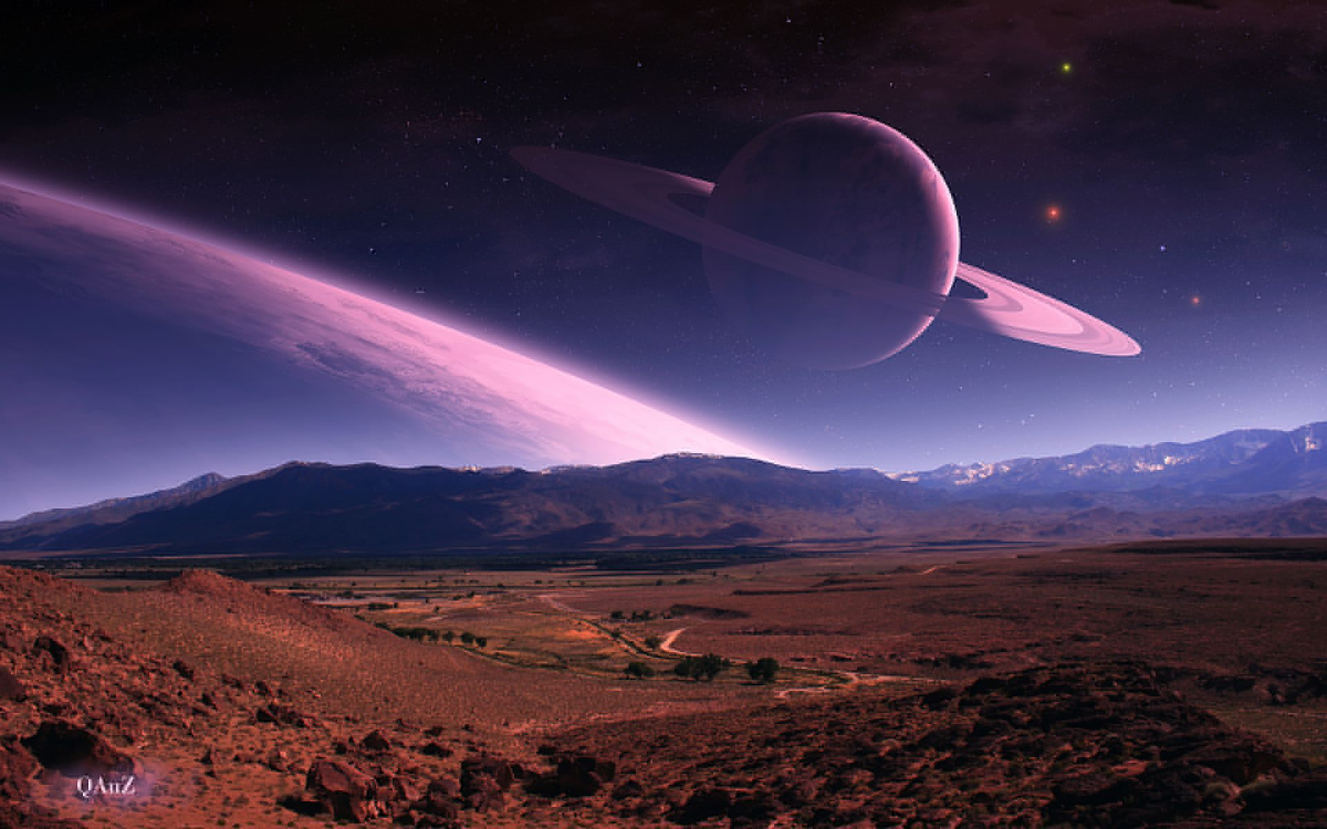 sci fi landscape alien planets - photo #8