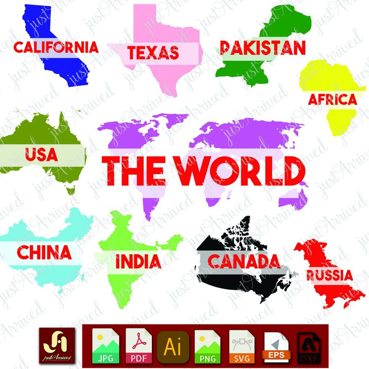 World map svg maps for students svg dxf png eps and pdf files world map svg maps for students svg dxf png eps and pdf files for silhouette studio texas monogram svg geography classroom teacher gumiabroncs Image collections