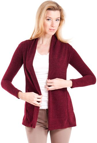 Solid Color Knit Cardigan Formal Classy Officewear Elegantcardigan Womenscardigan Whatsnew Shoponline Clotheseffect Cardigan Fashion Sweaters