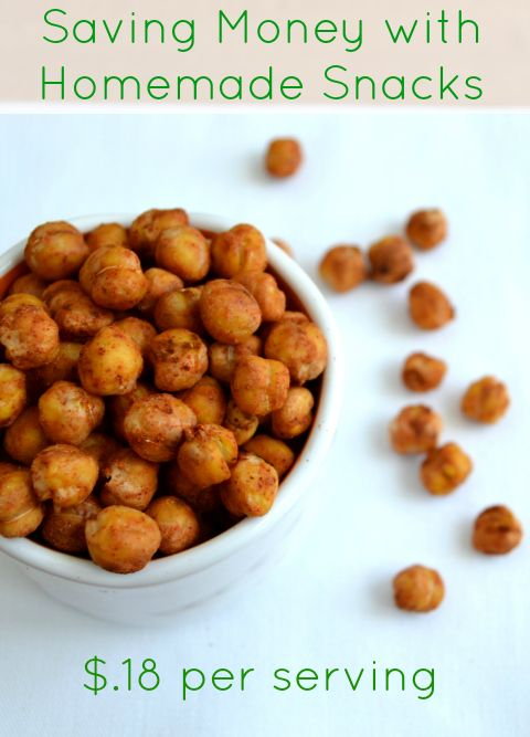 Good recipes for homemade snacks