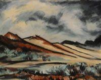Untitled Southwestern Landscape by Henry Salloch