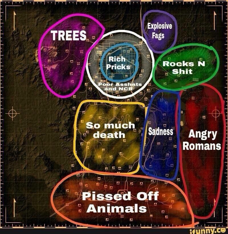 Fallout New Vegas Map