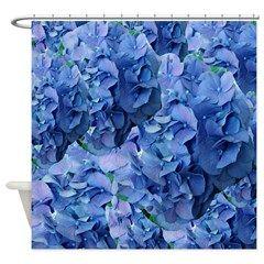 Blue Hydrangea Flowers Shower Curtain Blue Hydrangea Flowers Joysdesignershop Blue Hydrangea Flowers Hydrangea Flower Blue Hydrangea