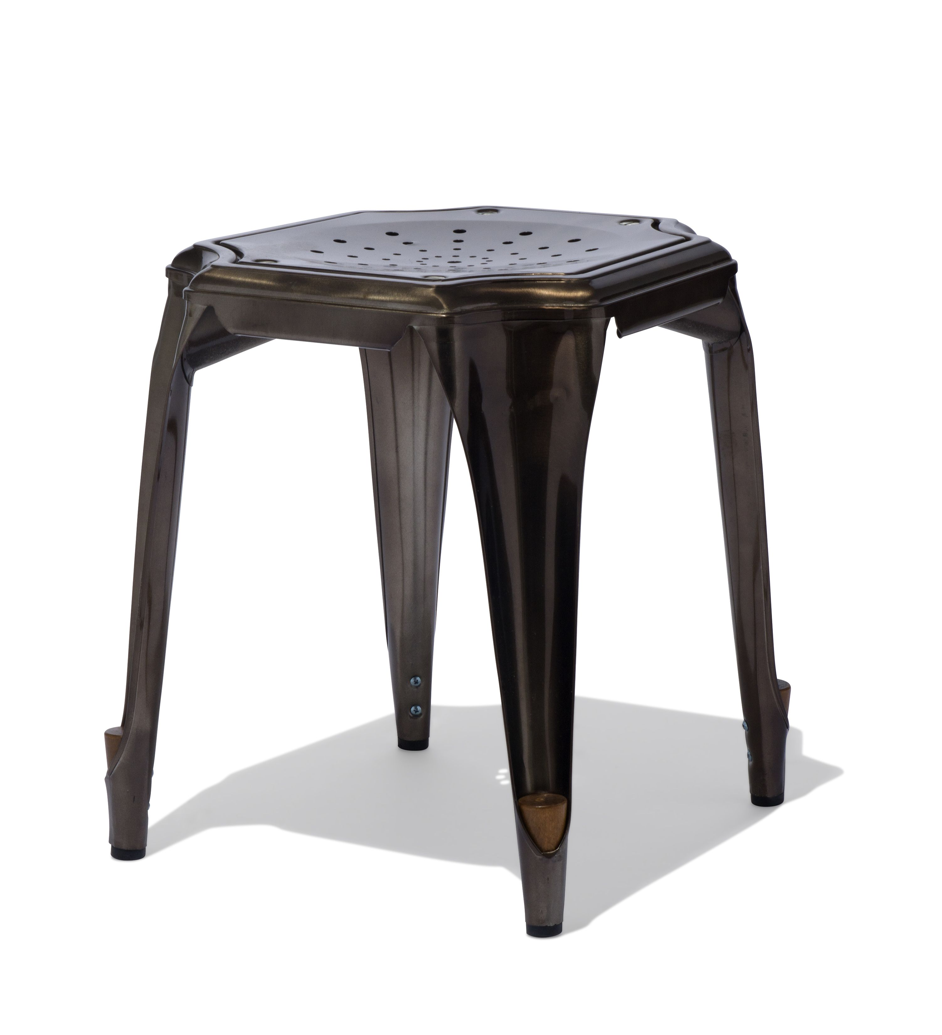 Cheval Table Stool Industrial Vs Nature Design Stool