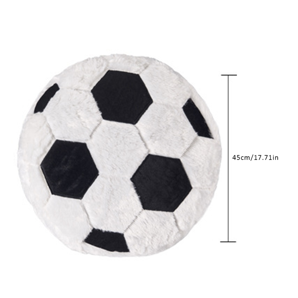 New Creative Soccer Shaped Pillow