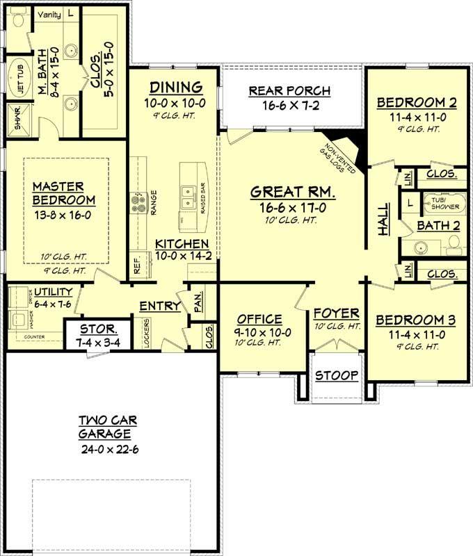 House Plans, Modern Farmhouse