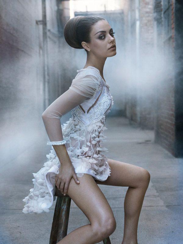 Mila Kunis by Ruven Afanador