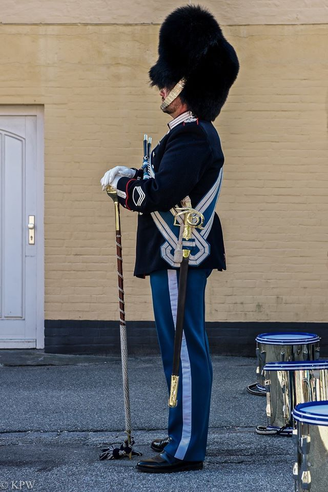 Danish Guards in Flensburg, photo by Klaus Werning
