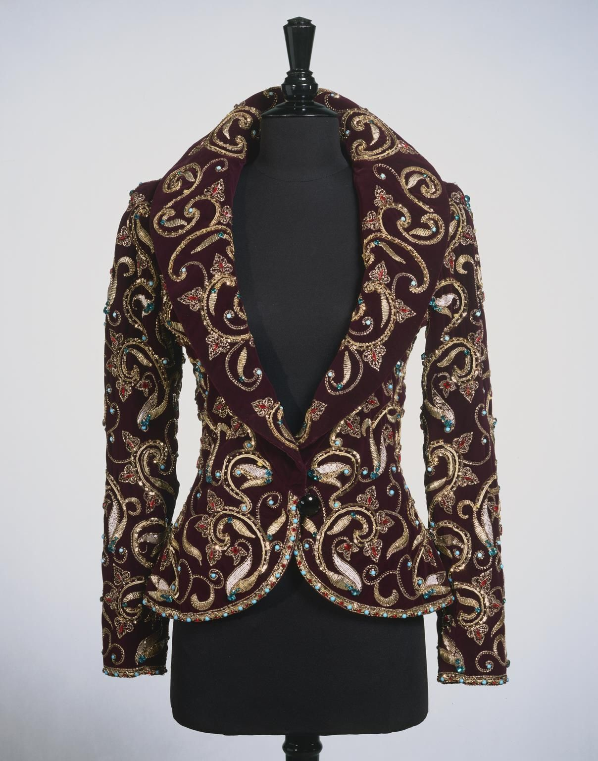 """Woman's Evening Jacket,"" Fall/Winter 1981–82, designed by Yves Saint Laurent  