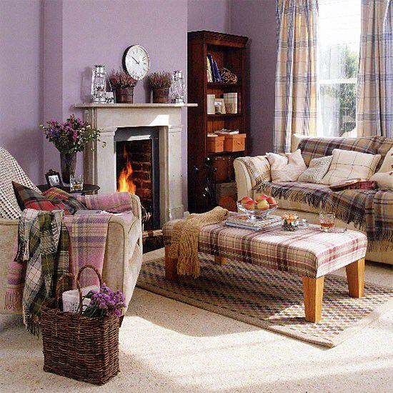 Tartan furnishings