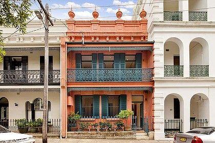 Not Just A Pretty Facade Aussie Aussie Aussie Pinterest - A-lovely-grey-house-in-paddington-sydney