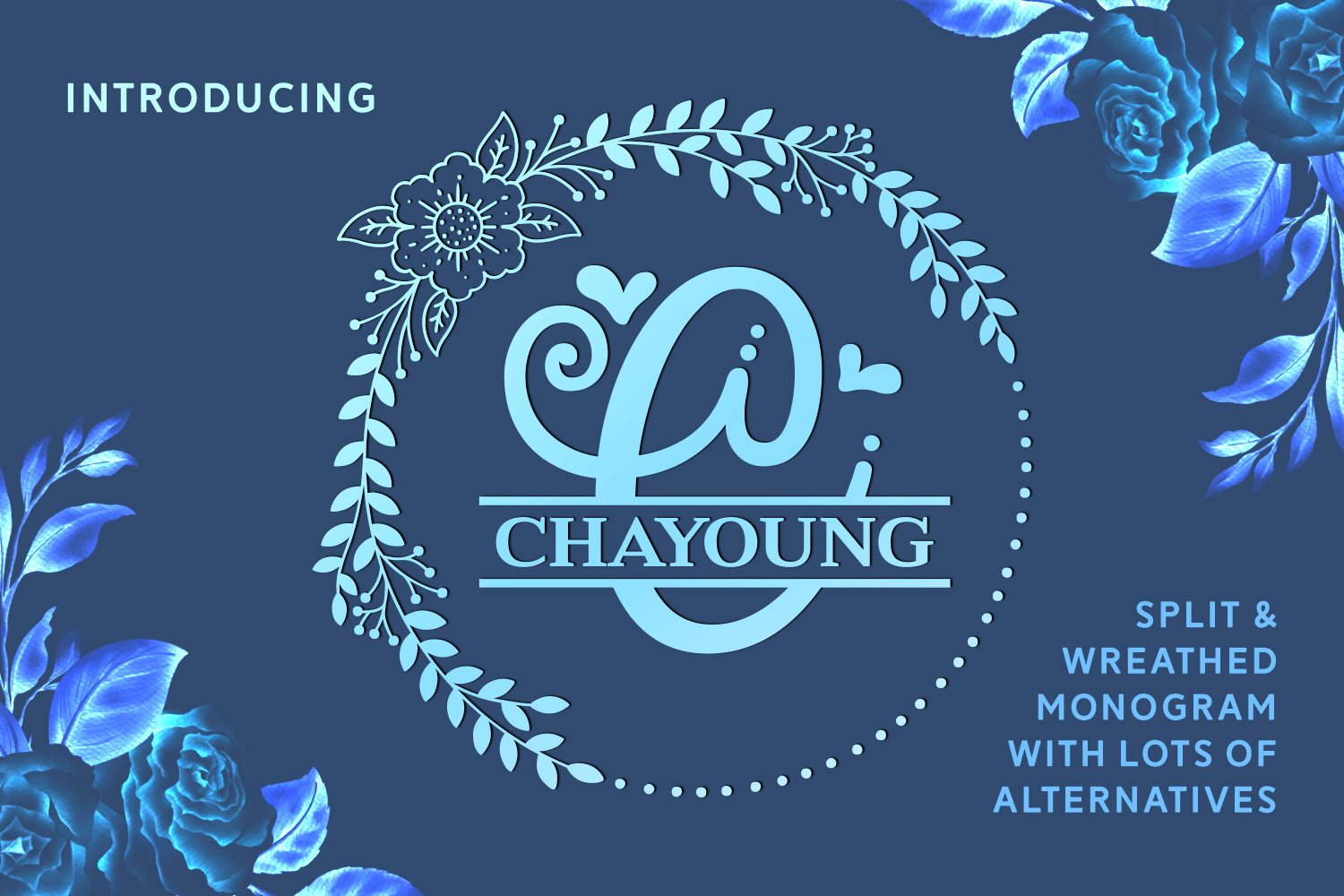Click Here And Download The Chayoung Font Window Mac Linux Last Updated 2020 Commercial Licence Included Monogram Fonts Popular Fonts New Fonts