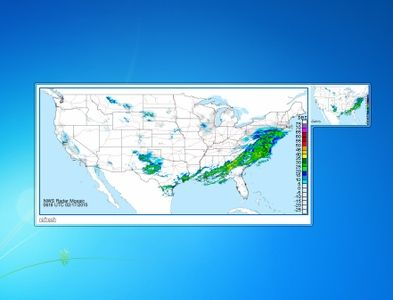 Weather Radar Gadget for Windows 7  http://win7gadgets.com/weather/weather_radar_gadget.html #weather, #windows7, #gadgets, #desktop