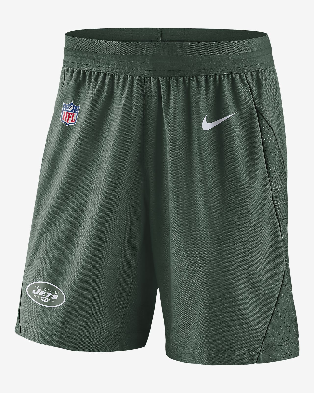 241e0741 Nike Dri-Fit Fly (Nfl Jets) Men's Knit Football Shorts - 3XL ...