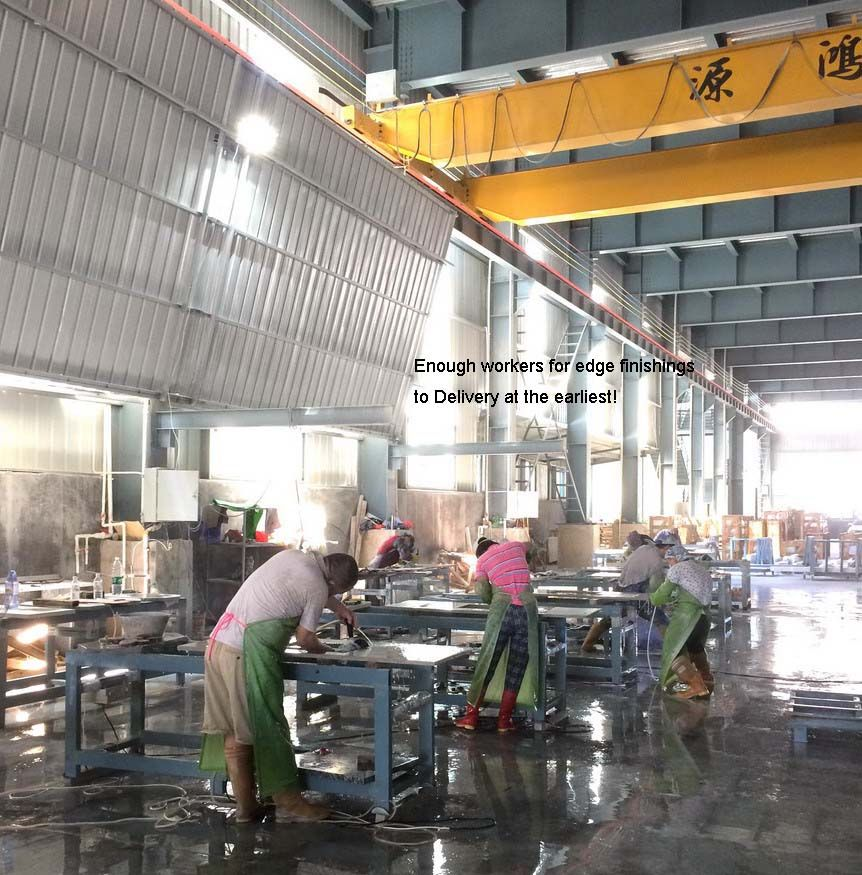 200 000 Sqft For Countertops Factory Started In 1993 Import Automated Cnc Machines And Sink Cut Out M Quartz Countertops Granite Quartz Countertops Countertops
