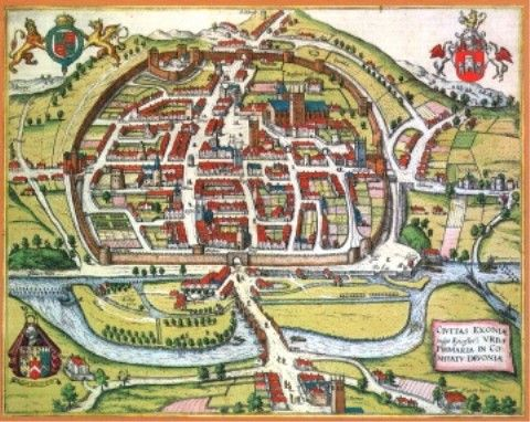 little hereford england medieval Medieval Southampton England