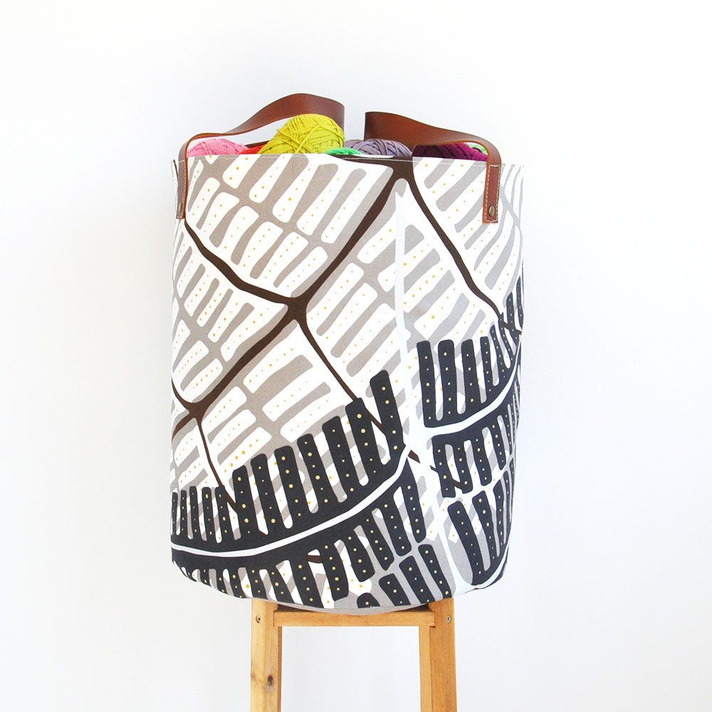 Xxlarge Modern Laundry Hamper Large Fabric Basket Toy Storage