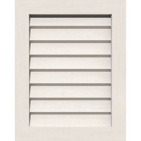 16 W X 16 H Vertical Gable Vent 21 W X 21 H Frame Size Unfinished Non Functional Pvc Gable Vent W 1 X 4 Flat Trim Frame Products Gable Vents Exter