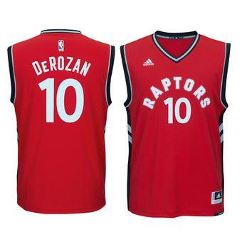 more photos 4c35a 5ad87 Men's Toronto Raptors DeMar DeRozan adidas Red climacool ...