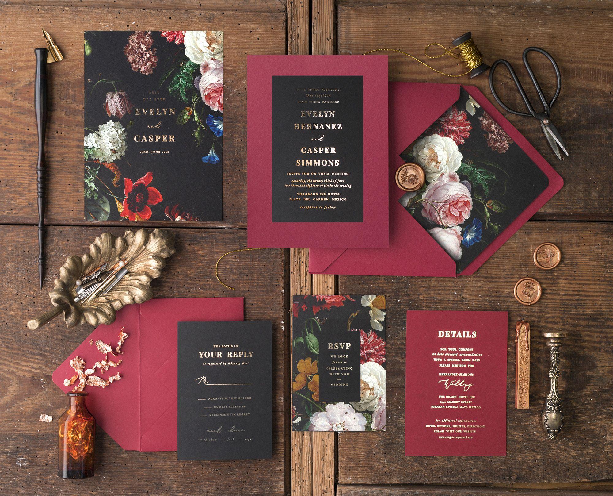 WEDDING INVITATIONS glitter | Invitation paper, Weddings and Wedding
