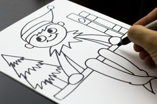 Art For Kids On Bloglovin How To Draw Elf On The Shelf Christmas Art Projects Art For Kids Hub Drawing For Kids