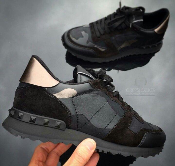 e685ced09f2 Valentino Camo/Bronze Trainers | designer - Valentino sneakers ...