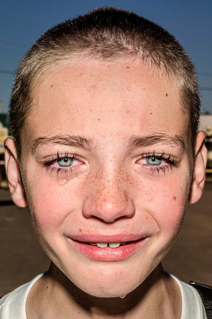 See Photographer Bruce Gilden's 'Blunt' State Fair Portraits