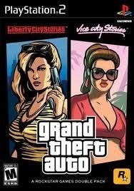 Gta Double Pack Liberty City Vice City Stories Ps2 Game Grand Theft Auto Ps2 Games Story Bundle