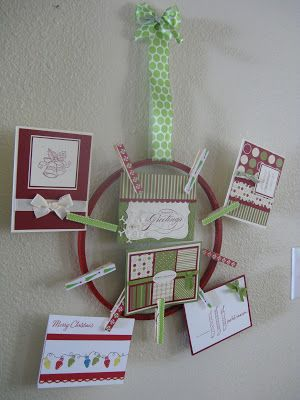 Embroidery Hoop Card Holder