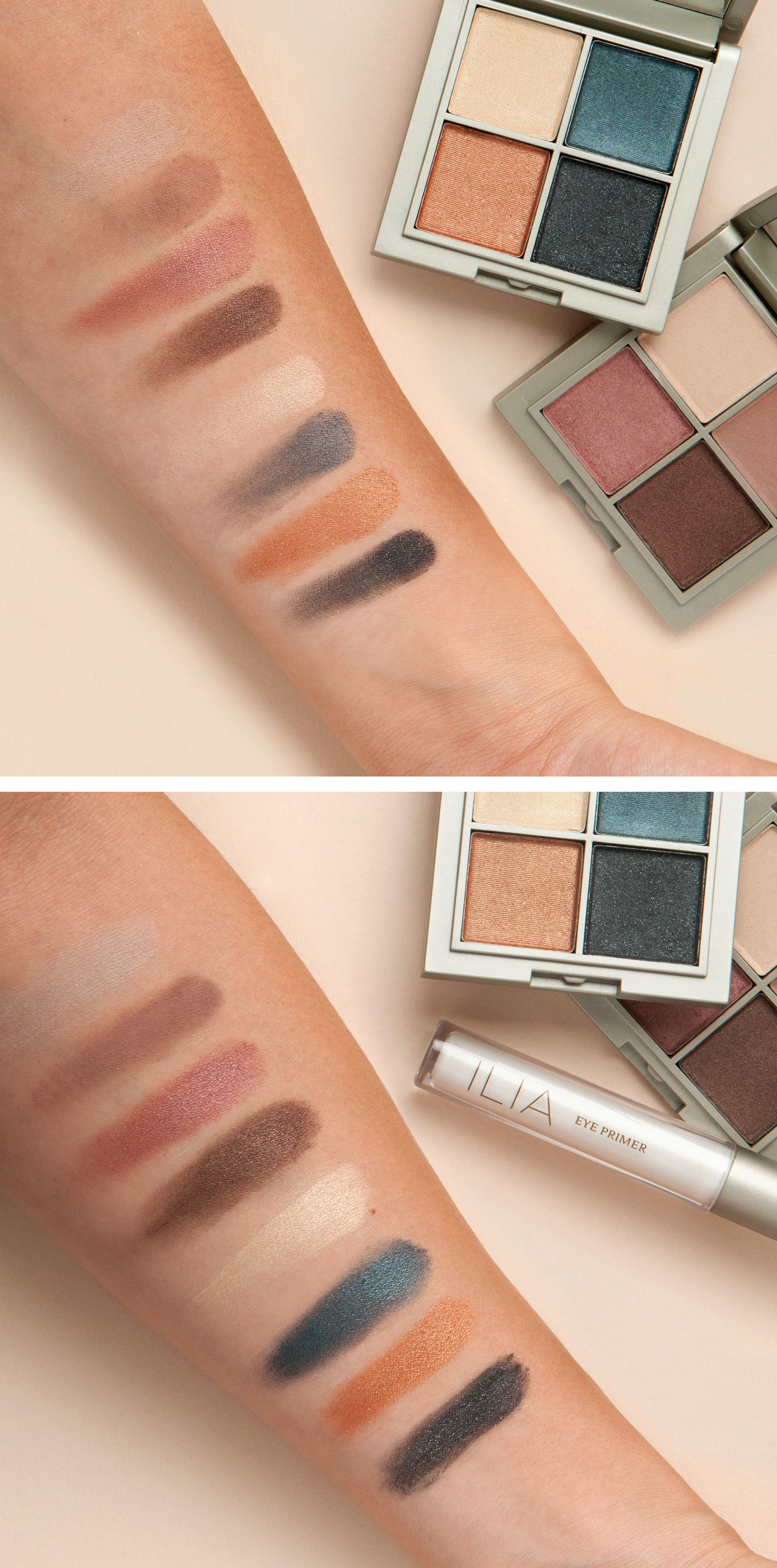 Prima and Luna swatched — colors that build and last all