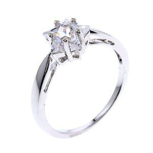 Star Shaped Wedding Ring