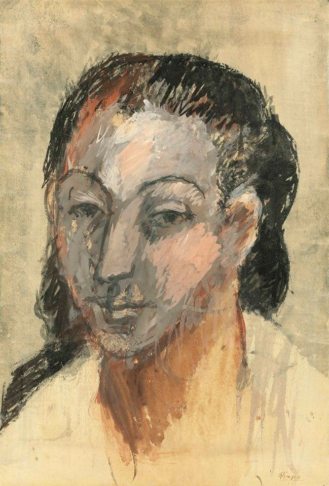 Pablo Picasso - Tête de femme, 1906. | Picasso | Pinterest | Picasso ...