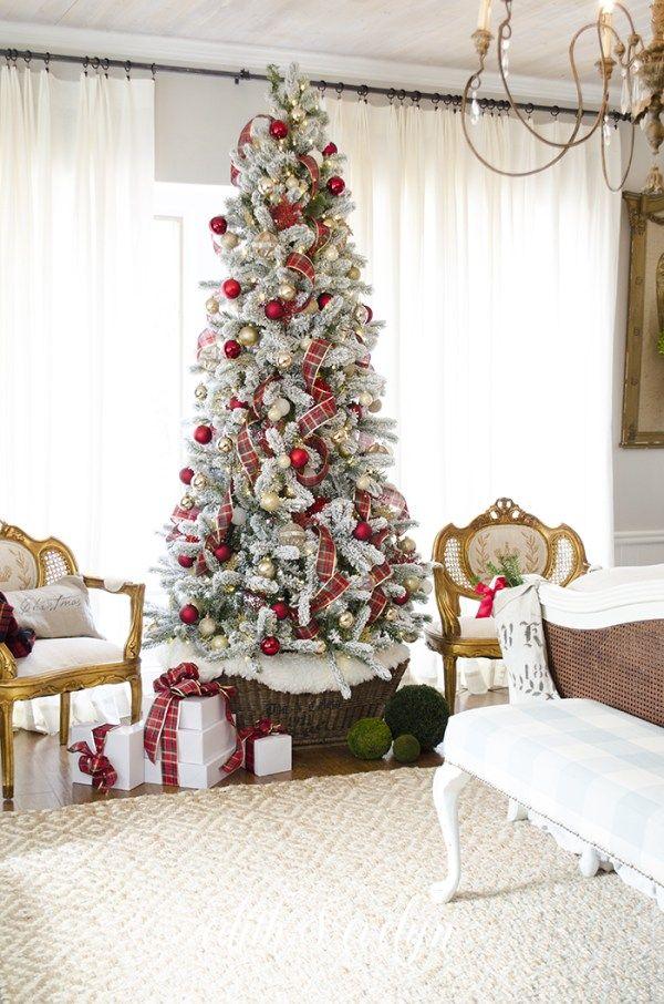 Master Bedroom Christmas Tree Christmas decorations