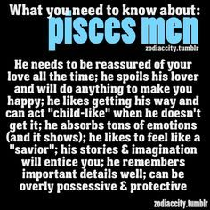 Tell A Likes Pisces Man You To How